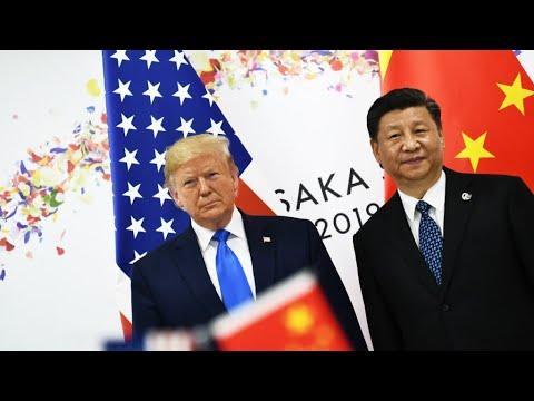 ترامب وشي يتفقان على استئناف المفاوضات التجارية بين بلديهما