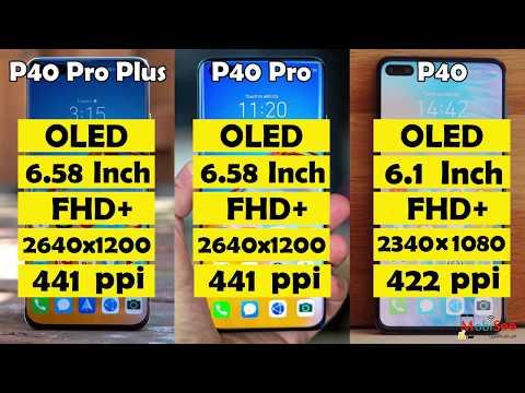 مراجعة Huawei P40 و P40 Pro و هواوي P40 Pro Plus ( سعر ومواصفات ومميزات وعيوب ومقارنة )