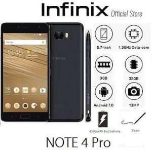 سعر و مواصفات Infinix Note 4 Pro و مميزات و عيوب