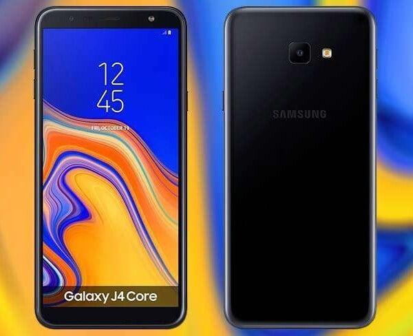 سعر ومواصفات Samsung Galaxy J4 Core ومميزات وعيوب