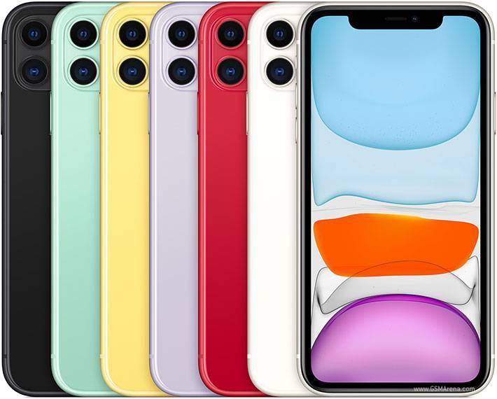 ألوان iPhone 11