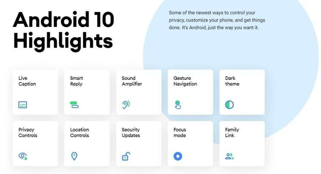 اندرويد 10 - اندرويد كيو Android 10 Q