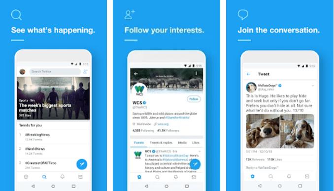 تحميل تطبيق تويتر - تنزيل Twitter