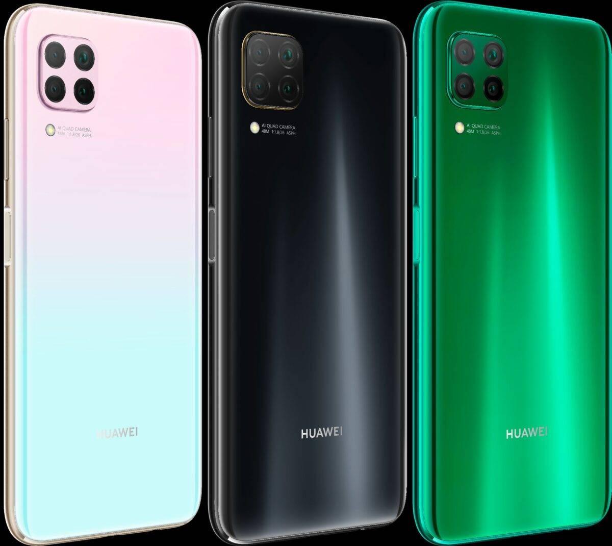 ألوان Huawei P40 Lite