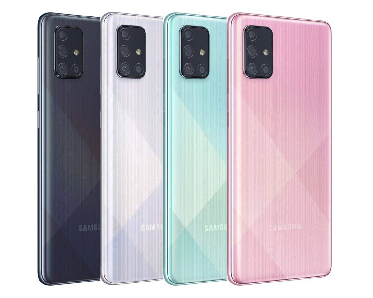 ألوان Samsung A71