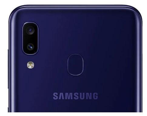 كاميرات Samsung M10s الخلفية
