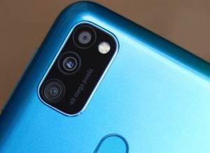 كاميرات Samsung M30s الخلفية