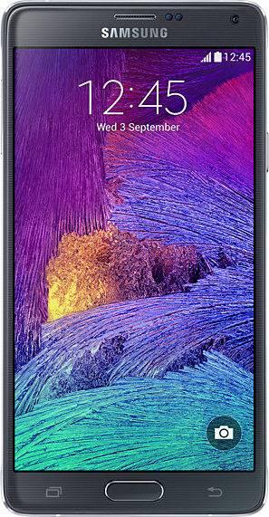 تصميم شاشة Samsung Note 4