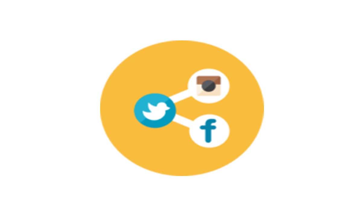المشاركة مع مواقع التواصل الاجتماعي