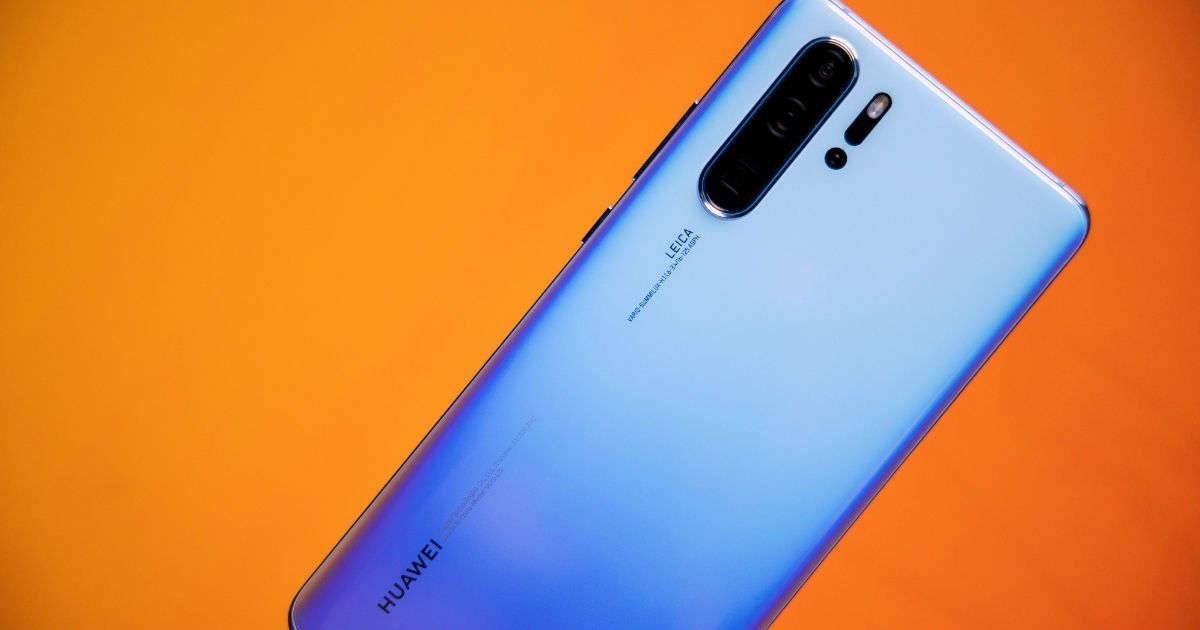 تصميم ظهر Huawei Nova 7 SE