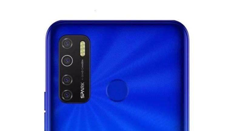 الكاميرات الخلفية لـ TECNO Spark 5