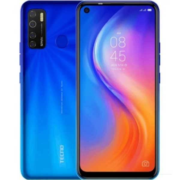 اللون الأزرق من TECNO Spark 5 Pro