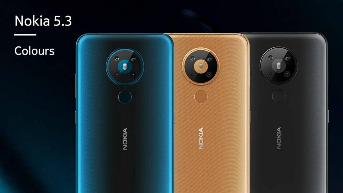 ألوان Nokia 5.3