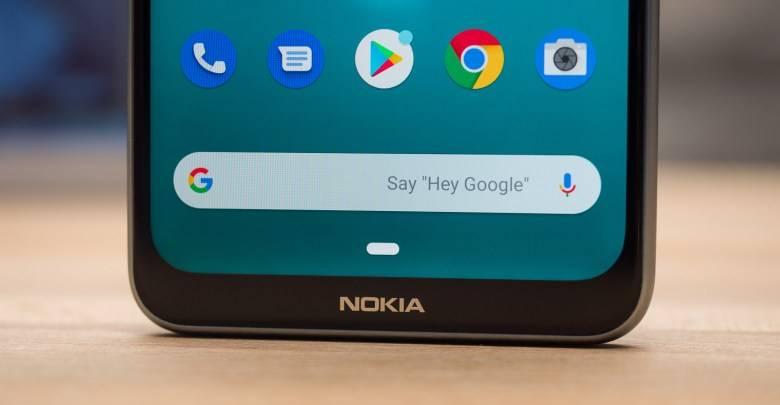 الحافة السفلية لـ Nokia 5.3