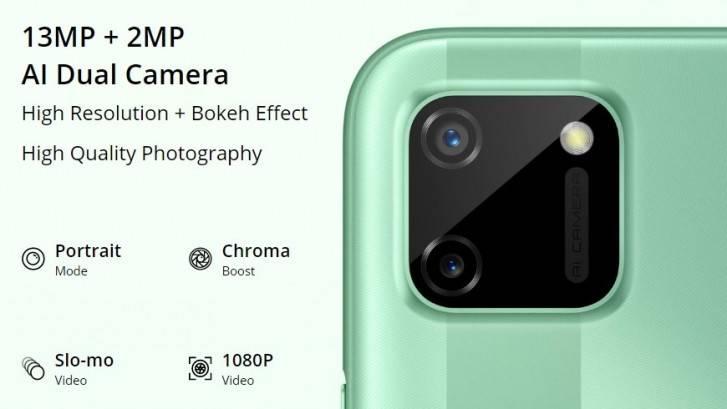 كاميرات Realme C11 الخلفية