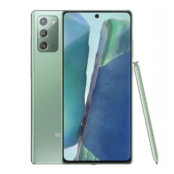 اللون الأخضر من Samsung Galaxy Note 20 5G