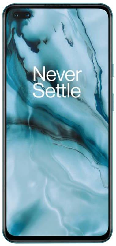 تصميم شاشة OnePlus Nord