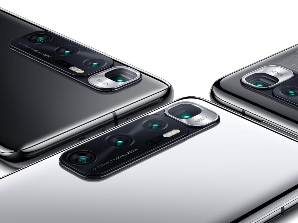 كاميرات Xiaomi Mi 10 Ultra الخلفية