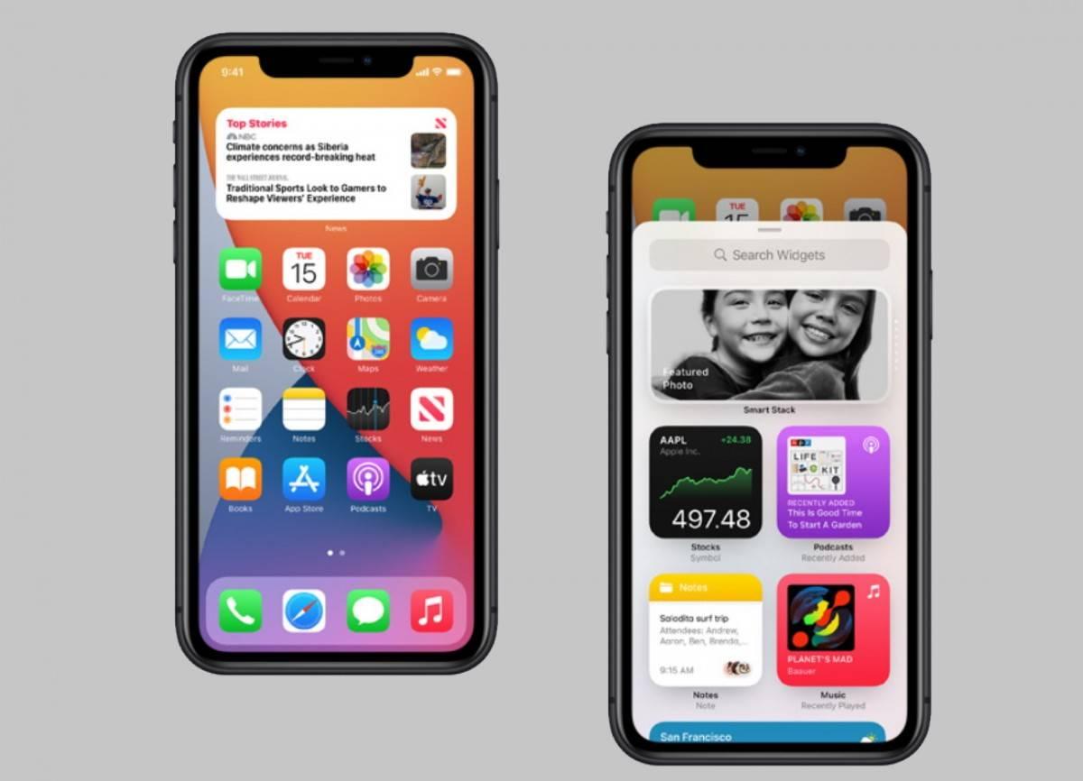 iOS 14 للايفون