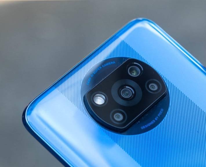 كاميرات Xiaomi Poco X3 NFC الخلفية