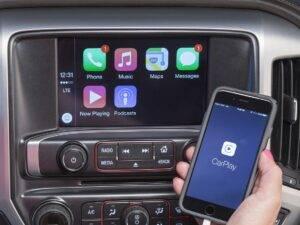 طريقة ربط الهاتف بالسيارة Carplay AndroidAuto