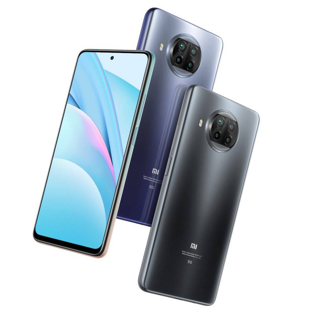 ألوان Xiaomi Mi 10T Lite 5G