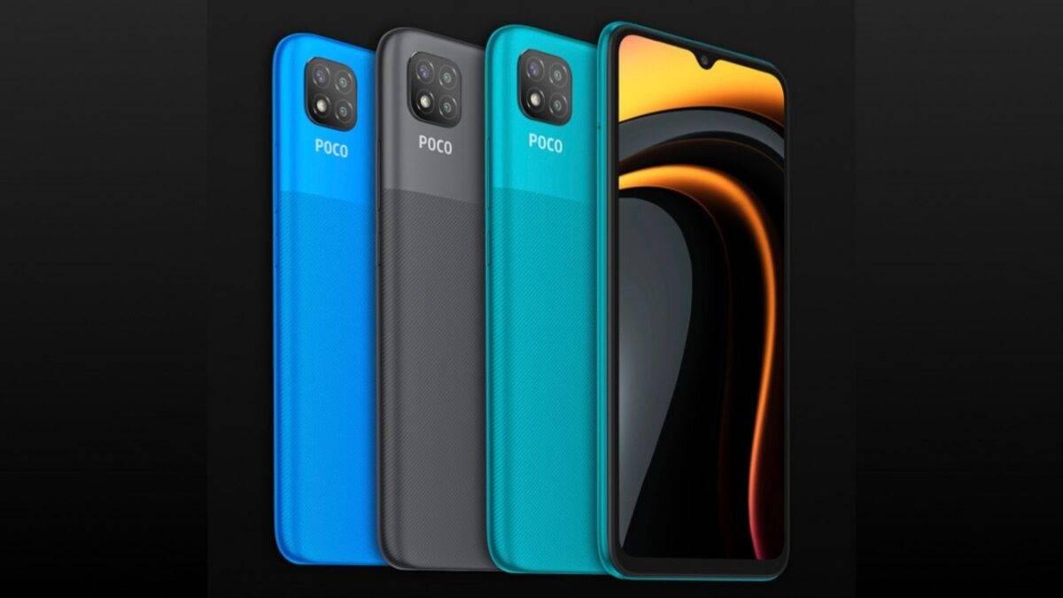 ألوان Xiaomi Poco C3